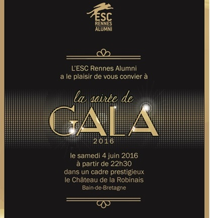 Actualit rennes school of business gala 2016 tes - Dress code rennes ...